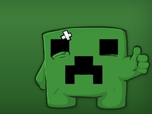 Sad minecraft creeper[1]