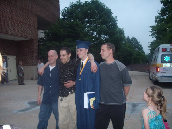OMG!!!  A family member graduates on time!