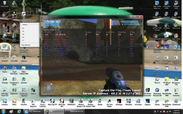 Halo PC scoreboard.