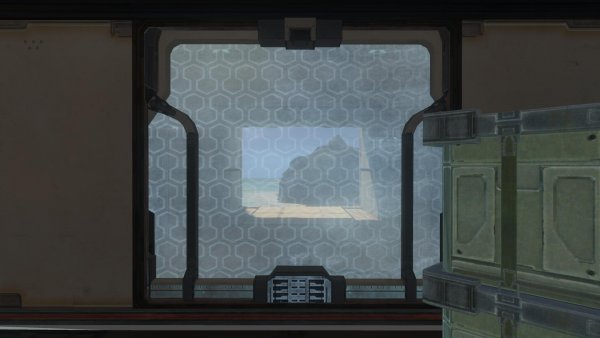 View Out Of Red Base's Window