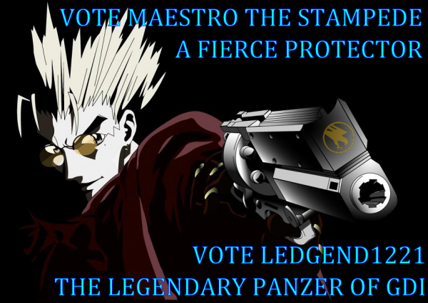 VOTE MAESTRO AND LEDGEND1221