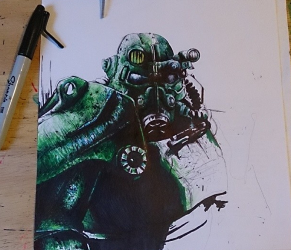T-45 Armor Drawing Update