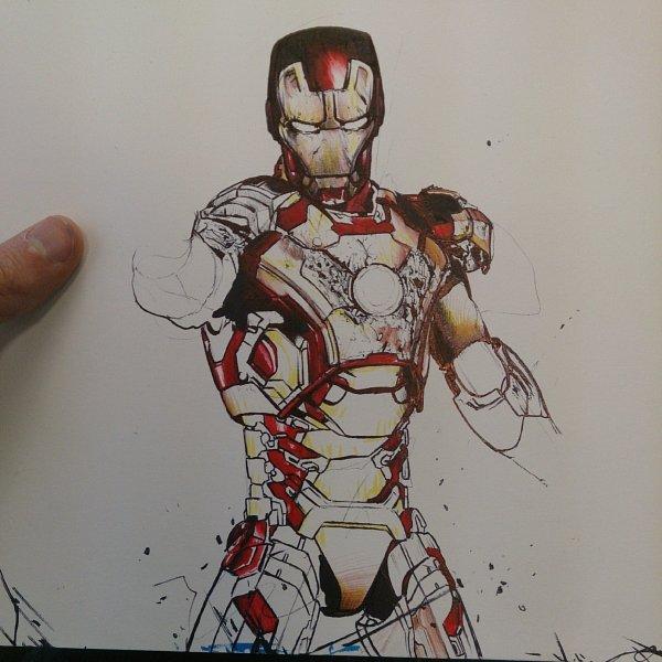 Iron Man progress