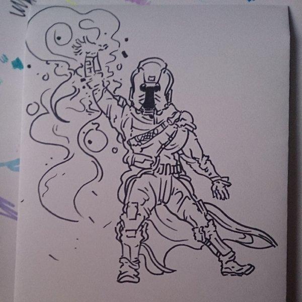 Warlock Doodle