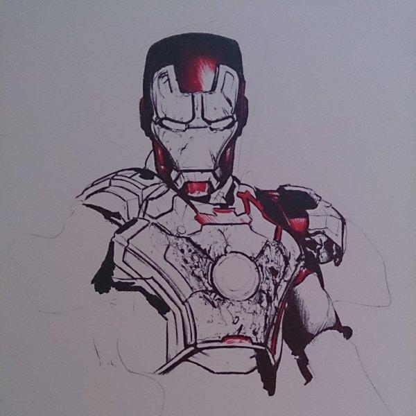 Iron Man 3 Drawing