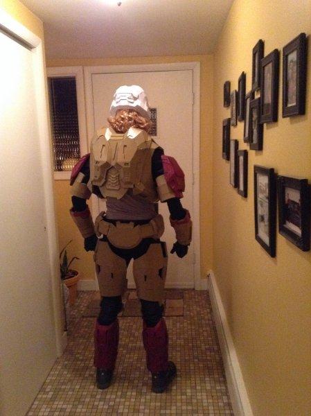 Halo reach Back armour