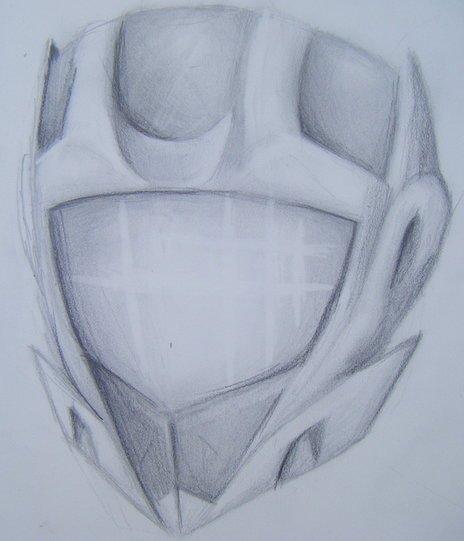 New helmet concept.