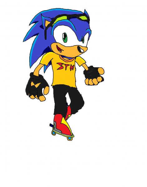 Jet Grind Radio Sonic