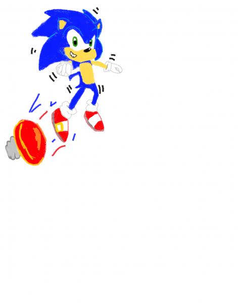 Springing Sonic