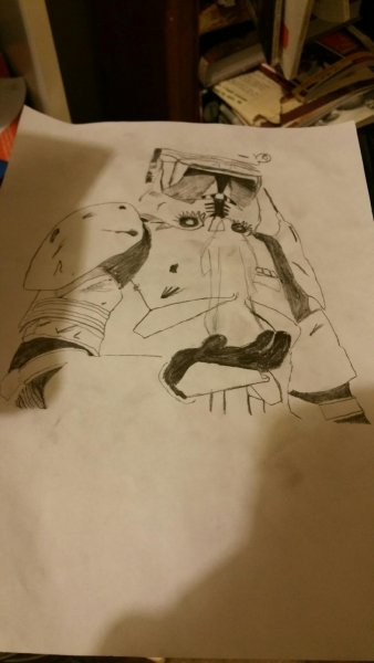 Commander Cody Drawing
