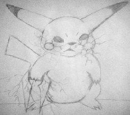 Pikachu with a Energy Sword