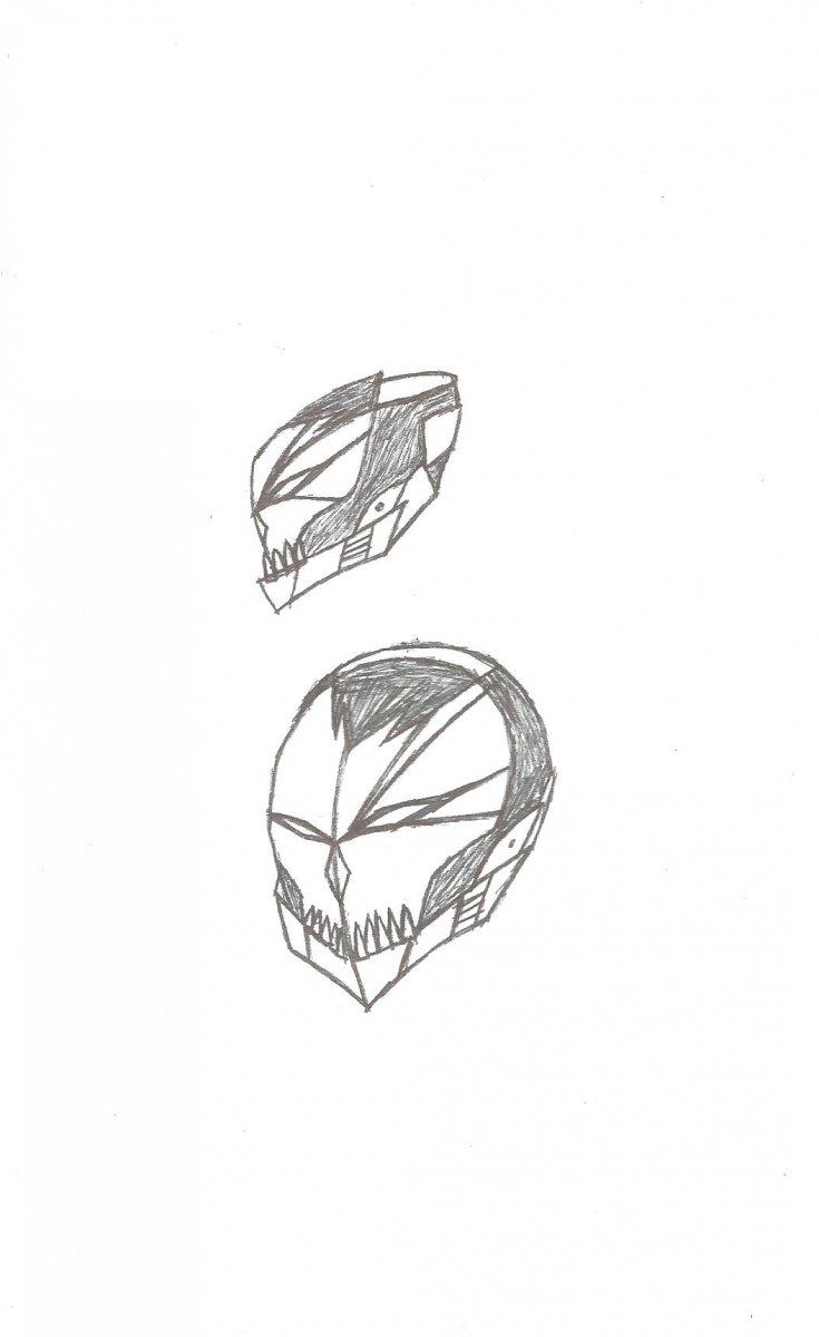 Bleach inspired halo armor