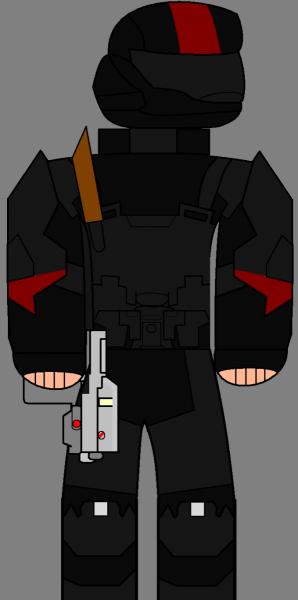 ODST (Colored and equiped)